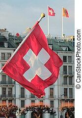 szwajcarska bandera