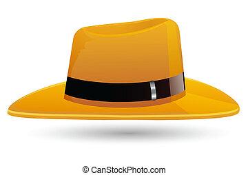 szykowny, kapelusz