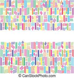 tęcza, abstrakcyjny, chorągiew, kolor