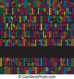 tęcza, abstrakcyjny, kolor, czarne tło, chorągiew
