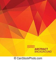 tło., abstrakcyjny, geometryczny