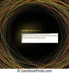 tło., abstrakcyjny, wektor, (eps10)