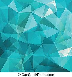 tło, abstrakcyjny, wektor, trójkąt