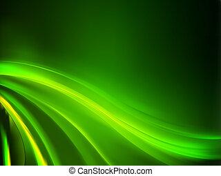 tło., abstrakcyjny, zielony, eps, 8