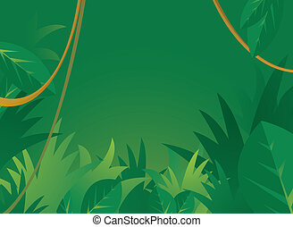 tło, dżungla, copyspace
