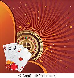 tło, hazard