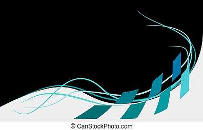 tło, ilustracja, wektor, abstrakcyjny, czarnoskóry