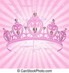 tło, promieniowy, księżna, folwark, korona
