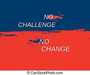 tło, wyzwanie, pojęcie