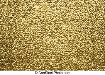 tło, złoty, metaliczny