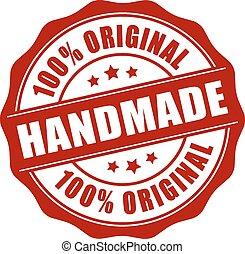tłoczyć, handmade