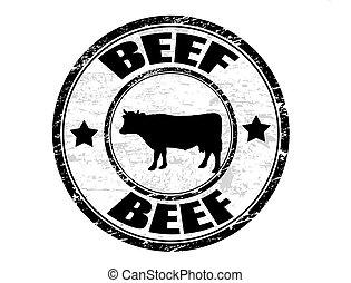 tłoczyć, wołowina