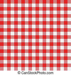 tablecloth, klatkowy