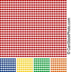 tablecloth, piknik, struktura