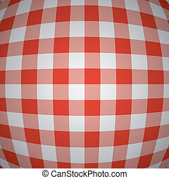 tablecloth, wektor, piknik, tło