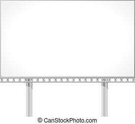 tablica ogłoszeń, wektor, ilustracja