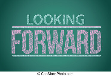 "tablica, pisemny, ""looking, słówko, forward"""