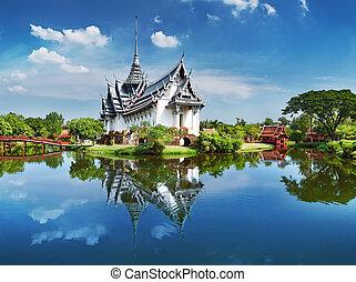 tajlandia, sanphet, prasat, pałac