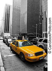 taksówka, miasto