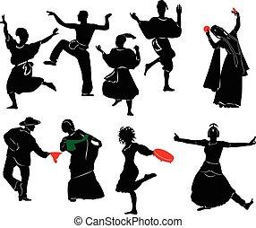 tancerz, etniczny