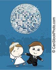taniec, ślub, pierwszy