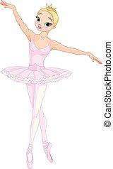 taniec, balerina