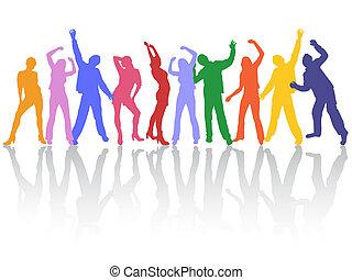 taniec, ludzie