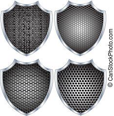 tarcza, metal, bezpieczeństwo