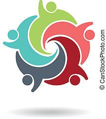teamwork, 5, logo