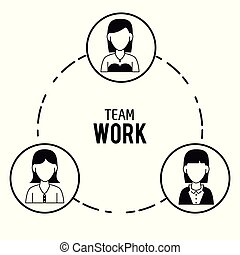 teamwork, projektować, ikony