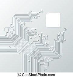 technologia, abstrakcyjny, tła, struktura
