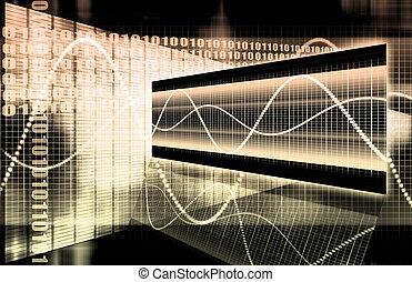 technologia, multimedia, dane