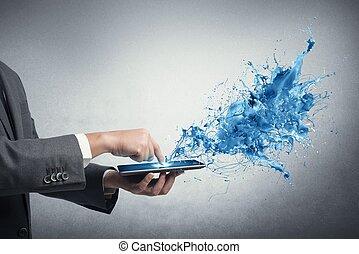 technologia, twórczy