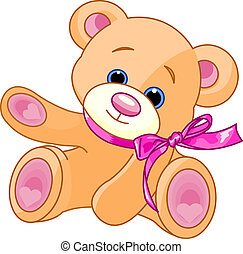 teddy, pokaz, niedźwiedź