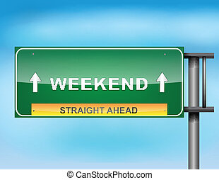 "tekst, ""weekend"", szosa znaczą"