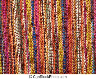 tekstylny, tkany