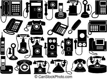 telefon, komplet