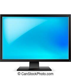 telewizja, lcd, hydromonitor