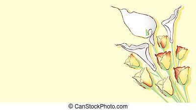 temat, kwiaty