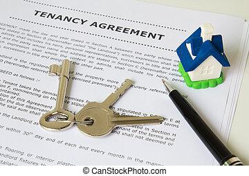 tenancy, porozumienie