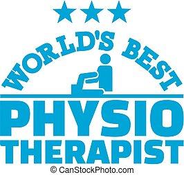 terapeuta, świat, najlepszy, fizyczny