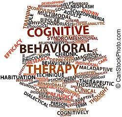 terapia, poznawczy, behavioral