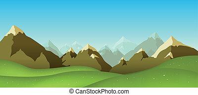 teren górzysty