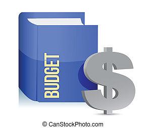 text:, książka, budżet, etykieta