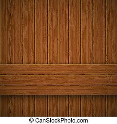 texture., ilustracja, drewniany, wektor