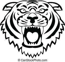tiger, capstrzyk