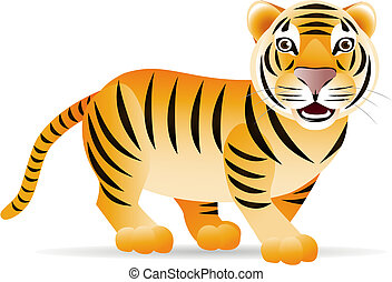 tiger, sprytny