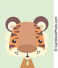 tiger., sprytny