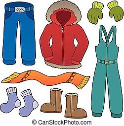 topic, 1, komplet, zima ubranie