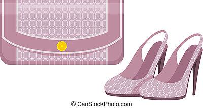 torba, obuwie, samica